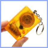 Hersteller-persönlicher sicherer Schutz 2 in 1 persönlicher Warnung mit Unterstützungs-Soem LED-Keychain