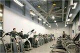 Siemens, ventilador de teto industrial da C.C. do uso 2.4m do ginásio do controle do transdutor de Omron (8FT)