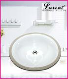 Тазик мытья руки гончарни ванной комнаты прямоугольный нижний установленный