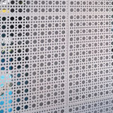 De artistieke Geperforeerde Bladen van het Aluminium voor De Decoratie van de Gordijngevel