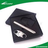 Комплект коробки подарка инструмента сигары нержавеющей стали подарка промотирования