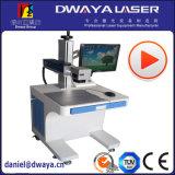 Niedrigerer Preis-heißer Absatzkartell-zitronengelber Vogel 30 Watt-Faser-Laser-Markierungs-Maschine