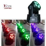 専門家6in1 Rgbawuvの洗浄LED小さい移動ヘッドライト