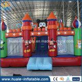 Heißer Verkauf Belüftung-Spielzeug-Geschenk-Hersteller-aufblasbarer Überbrückungsdraht-federnd Schloss