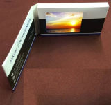 Negócio Video Name Cards com 2.4 Inch LCD/128MB Memory
