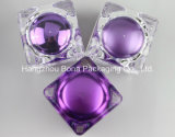 15g 30g 50gの一義的な紫色のアクリルの表面クリームの瓶