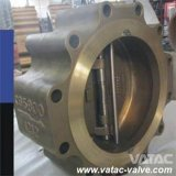 鋳造物Iron Steel Lug Dual Plate Wafer Check Valve