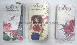 Бумажник PU печатание цифров высокого качества кожаный для девушок