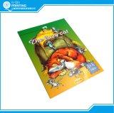 Impression polychrome de livre pour enfant d'agrafe