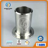 Ajustage de précision soudé bout à bout de l'extrémité Wp304/304L de moignon d'acier inoxydable (KT0236)