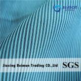Fábrica Supply— tela teñida de la raya del hilo de algodón de 10.5m m 25%Silk el 75%