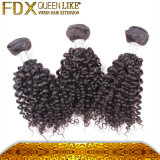 Человеческие волосы краткости дела пачки вспомогательного оборудования волос способа малайзийские