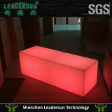 LED 입방체 가구 의자
