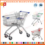 Die meiste populäre Qualitäts-Supermarkt-Einkaufen-Karren-Laufkatze (ZHt257)