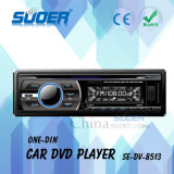 DVD-плеер мультимедиа автомобиля DIN DVD-плеер одного автомобиля низкой цены Suoer с SD/USB/MMC (SE-DV-8513)