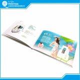Catálogo e folheto que anunciam a impressão
