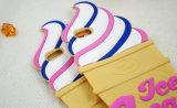 Вспомогательное оборудование телефона силикона конуса мороженного в случай iPhone 6s 6plus (XSF-0160)
