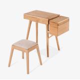 木の家具のアメリカのカシの木の記憶のドレッシングの立場の寝室の家具