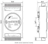 8-Kanal- 4-20mA RS232 RS485 zur Anzeige Converter