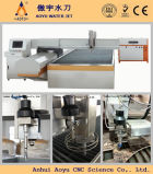 Fliege Arm oder Bridge Type Water Jet Cutting Machine für Granite 3-Axis Cutting