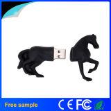 カスタマイズされた漫画3Dの馬はPVC USBのフラッシュ駆動機構を形づけた