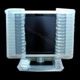 Bolso plástico a prueba de choques del amortiguador de aire de la columna para el embalaje del LCD TV