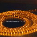 Luz de tira de alta tensão SMD3528 do diodo emissor de luz 3W/M com cor amarela