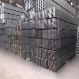 """Fascio d'acciaio della scanalatura a """"u"""" di profilo del materiale da costruzione"""