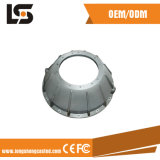 Cubierta de aluminio de la lámpara del diámetro grande LED con la anodización que trabaja a máquina