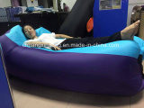 Schlafsack-aufblasbares Kneipe-Luft-Sofa der neuen Ankunfts-einlagiges TPU