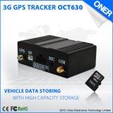 vehículo de 3G GPS que sigue a perseguidor del GPS del dispositivo con la registración de datos
