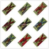 Clip elastiche della bretella 4 dei bambini dei montaggi del cuoio genuino di modo