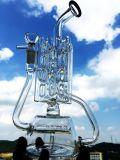 Waterpijpen van het Glas van de Recycleermachine van het Ontwerp van Hbking de Nieuwe, de Rokende Pijpen van het Glas van de Tabak, Rokende Waterpijpen