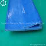 Plastic uhmw-PE die van de Producten van de fabriek het Naar maat gemaakte Plastic het Spoor van de Gids uitdrijven