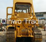 Chenille utilisée 20ton utilisé parTreuil Bouteur-Hydraulique 40hq-Container-Packing 3306-Engine du tracteur à chenilles D7g