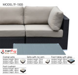 2016 establece un nuevo modelo modular patio al aire libre Sofá seccional