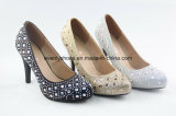 Absatz-Entwurfs-Dame Fashion Shoes mit Rhinestone
