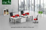 Mesa de escritório da forma com pé de aço da tabela de Adustable