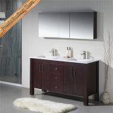 Doppelte keramische Wannen-Badezimmer-Eitelkeit