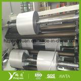 Tissu enduit d'isolation thermique de fibre de verre de papier d'aluminium