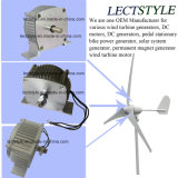 motor de la turbina de viento del generador de potencia del imán permanente de la C.C. de 12V 500W