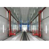 Camiones y coches de pulverización de pintura Cabina de coches Equipo stand personalizado
