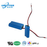 paquete recargable de la batería de ion de litio de 1s2p 3.7V (4400mAh) para el Massager