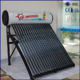 300L no Presión de vacío compacto del tubo calentador de agua solar