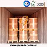 Papier thermosensible enduit de douceur élevée dans la bobine pour l'imprimante de position