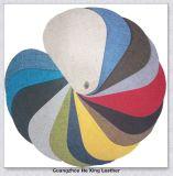 Cuero sintetizado de la tapicería del PVC de la alta calidad para el sofá, asiento de coche, muebles