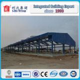 Magazzino della struttura d'acciaio di disegno della costruzione del moscato
