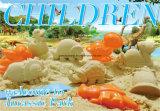 Deluxe Wanne - Dinosaurier-Sand-Bewegungs-Sand-Spiel-Sand DIY scherzt Spielzeug-pädagogische Spielwaren