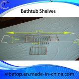 Caddy ванны крома металла типа гостиницы с держателем стекла вина