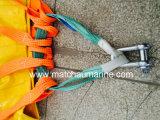 bolso de los pesos del agua de la prueba de carga de la prueba de la grúa 15t y del pescante